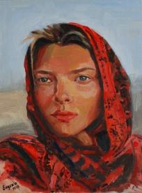 Yuliana. Portrait. 2019