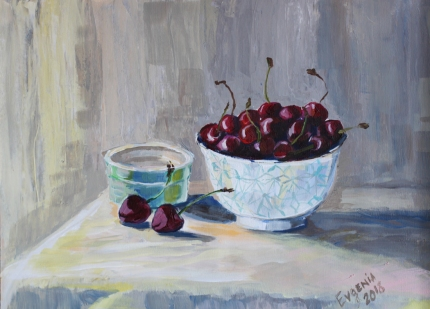 Bowl of Cherries, SOLD