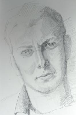Albert. Pencil on paper
